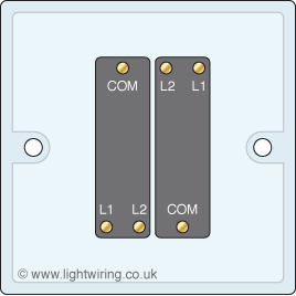 2 gang 2 way light switch light wiring double gang two way light switch terminal variation 1
