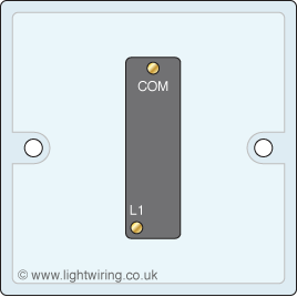 Single gang 1 way light switch light wiring single gang one way light switch asfbconference2016 Image collections