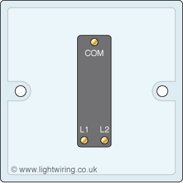 Single gang 2 way light switch circuit diagrams Light wiring