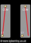 One way light switch mechanism